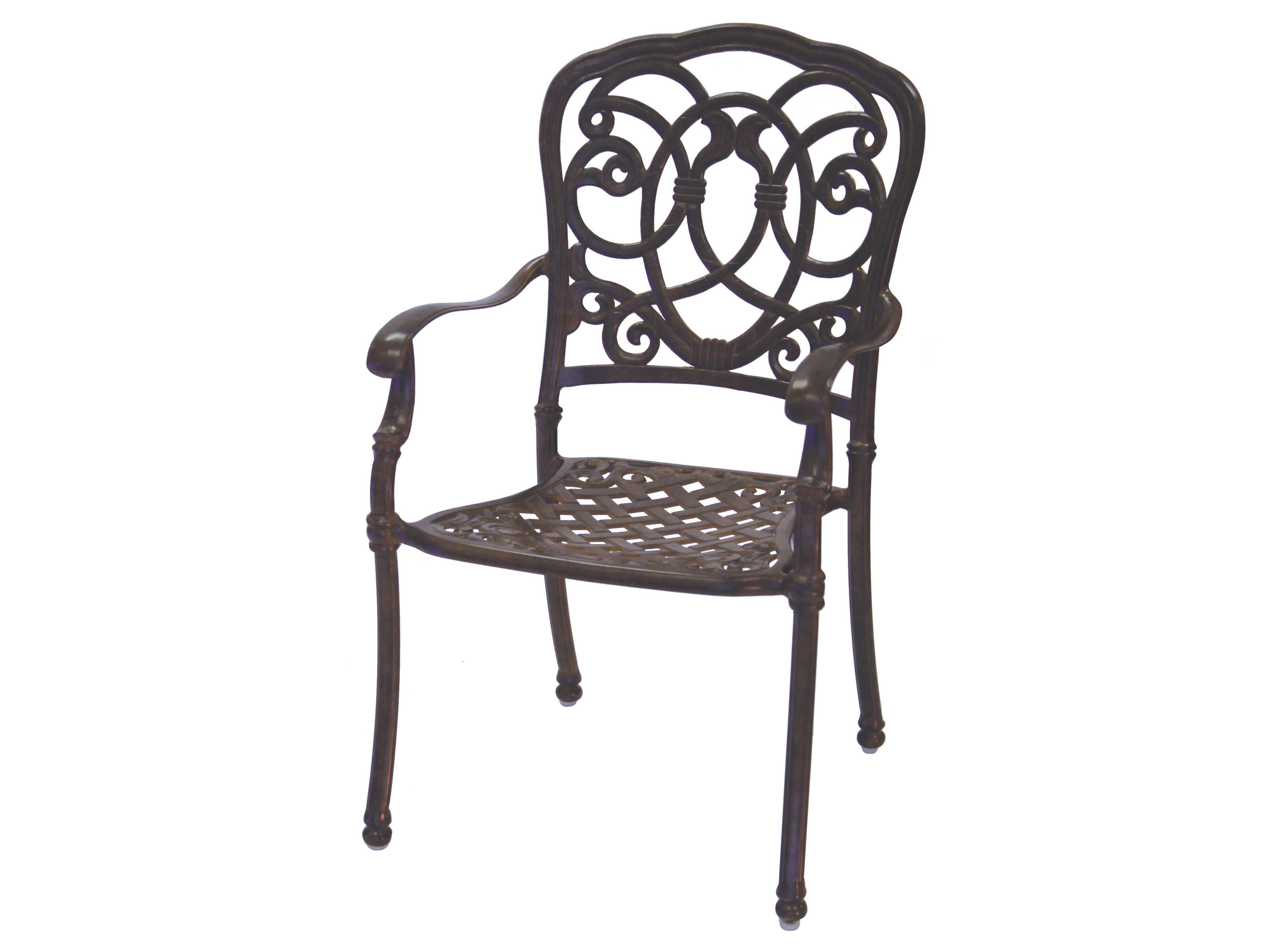 Darlee Outdoor Florence Cast Aluminum Dining Chair