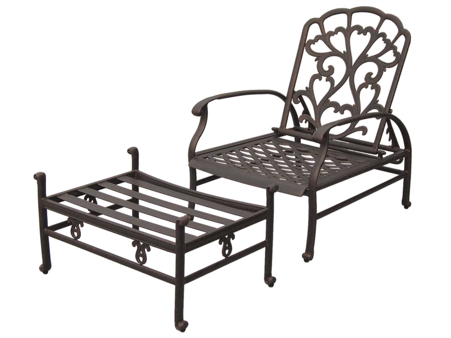 Darlee Outdoor Living Catalina Cast Aluminum Antique