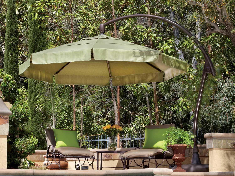 Treasure Garden Cantilever Aluminum 11' Crank Lift And