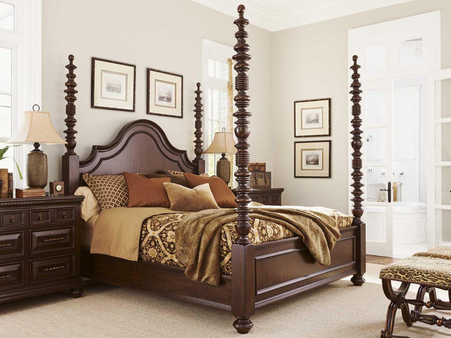Tommy Bahama Kilimanjaro Candaleria Tangier Bedroom Set TO552173CSET