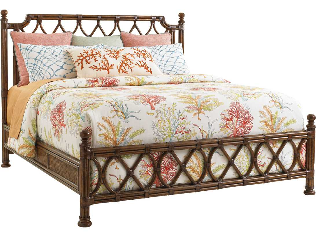 Tommy Bahama Bali Hai Island Breeze King Rattan Bed TO593134C