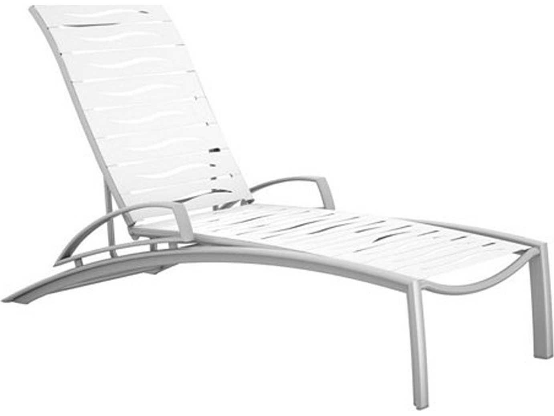 Tropitone South Beach Wave Segment Chaise Lounges