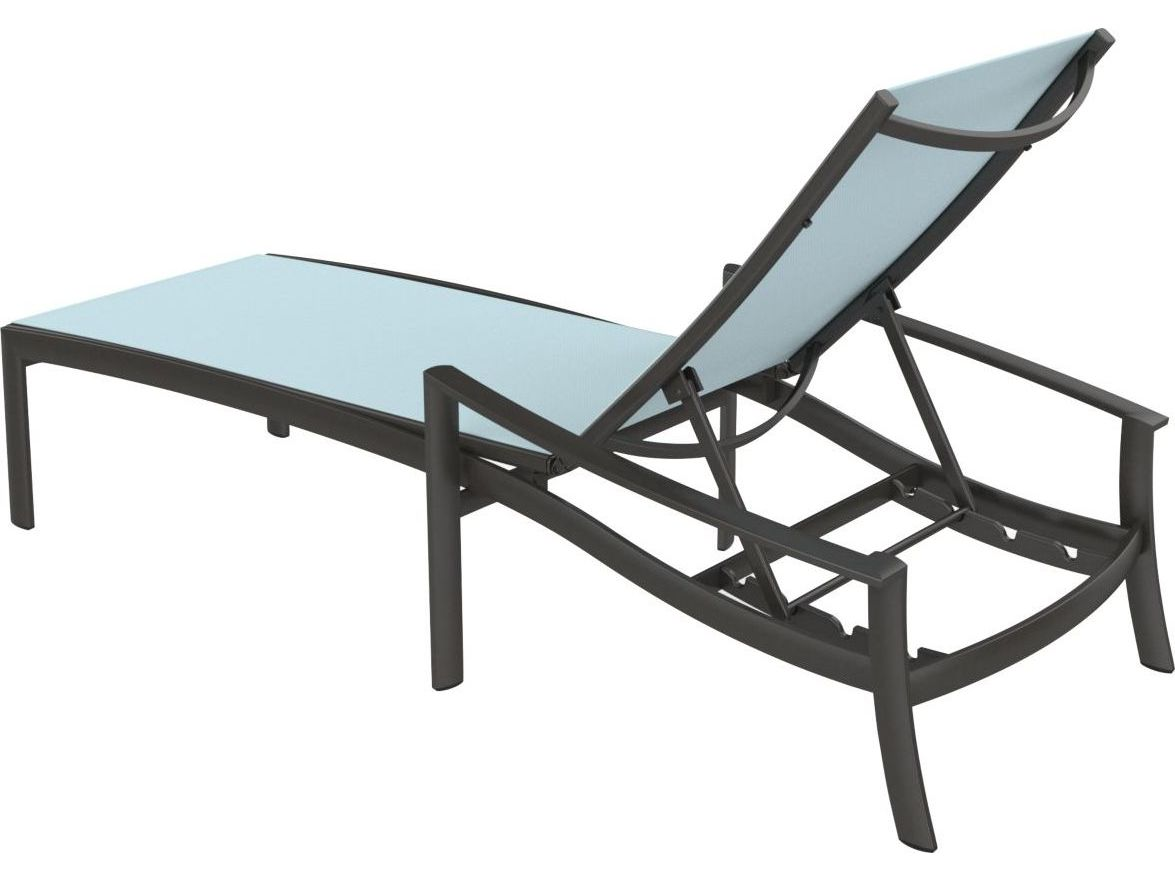Tropitone Kor Relaxed Sling Aluminum Chaise Lounge