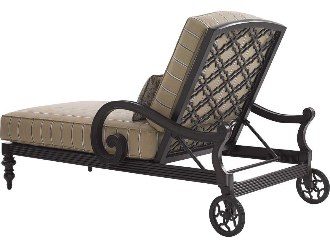 Tommy Bahama Outdoor Black Sands Cast Aluminum Cushion