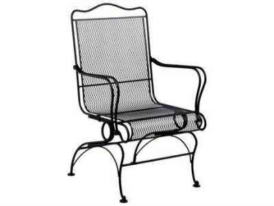 Wrought Iron Patio Furniture   PatioLiving Dining Chairs