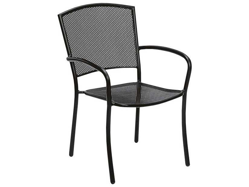 Wrought Iron Patio Chairs Stackable