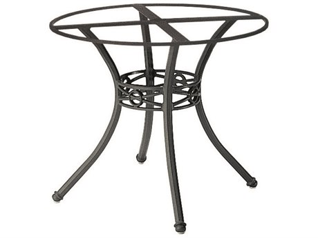woodard delphi cast aluminum round table base