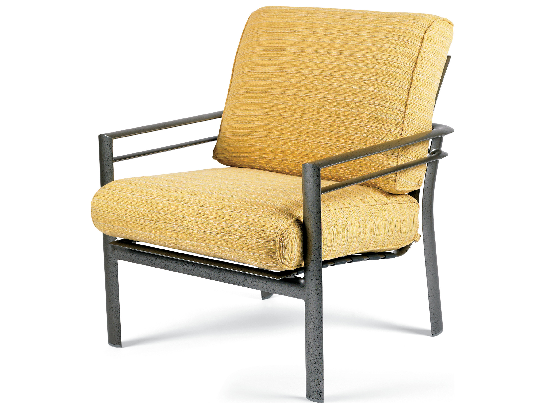 Winston Southern Cay Cushion Aluminum Arm Lounge Chair