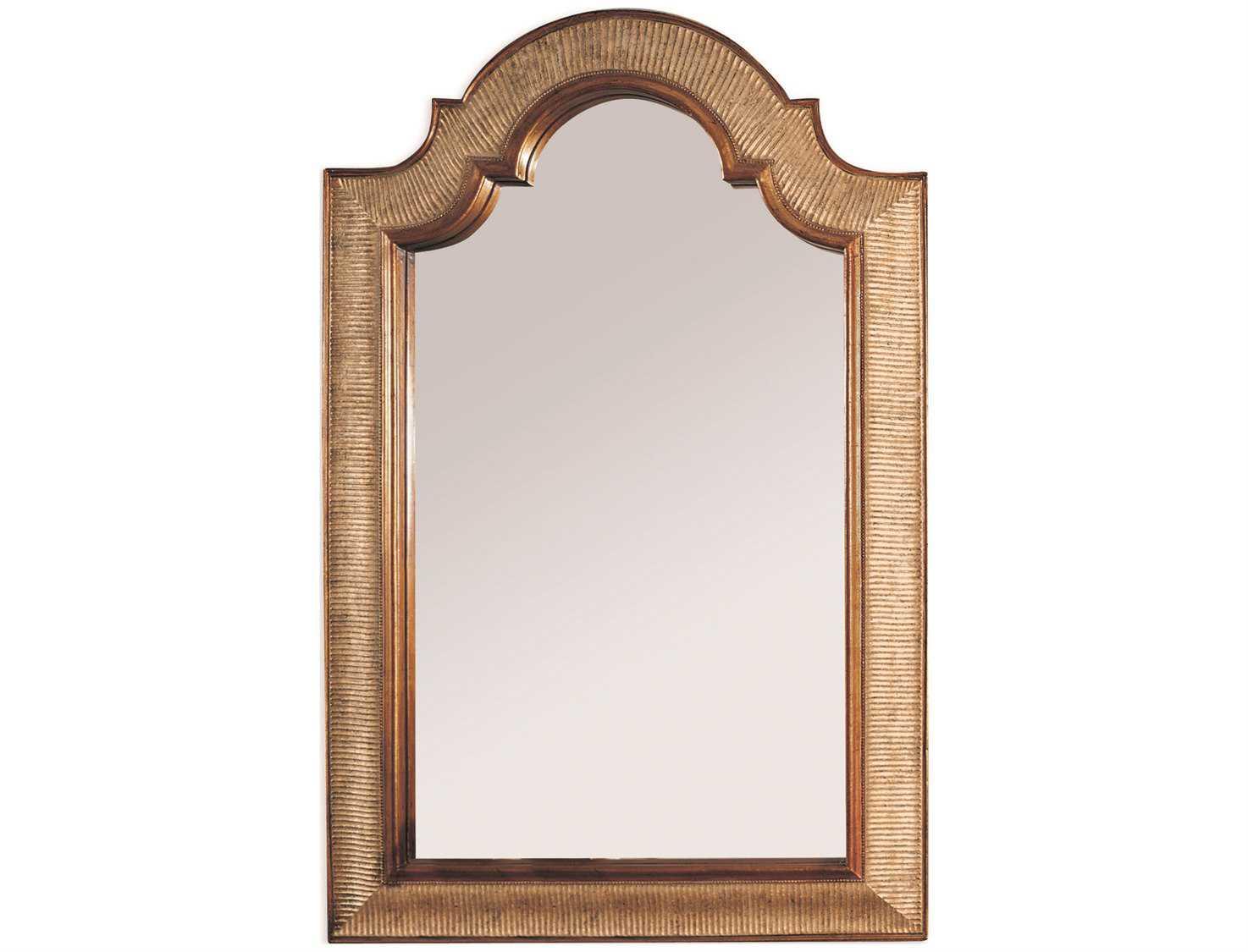 Bassett Mirror Old World 28 X 45 Silver & Gold Leaf