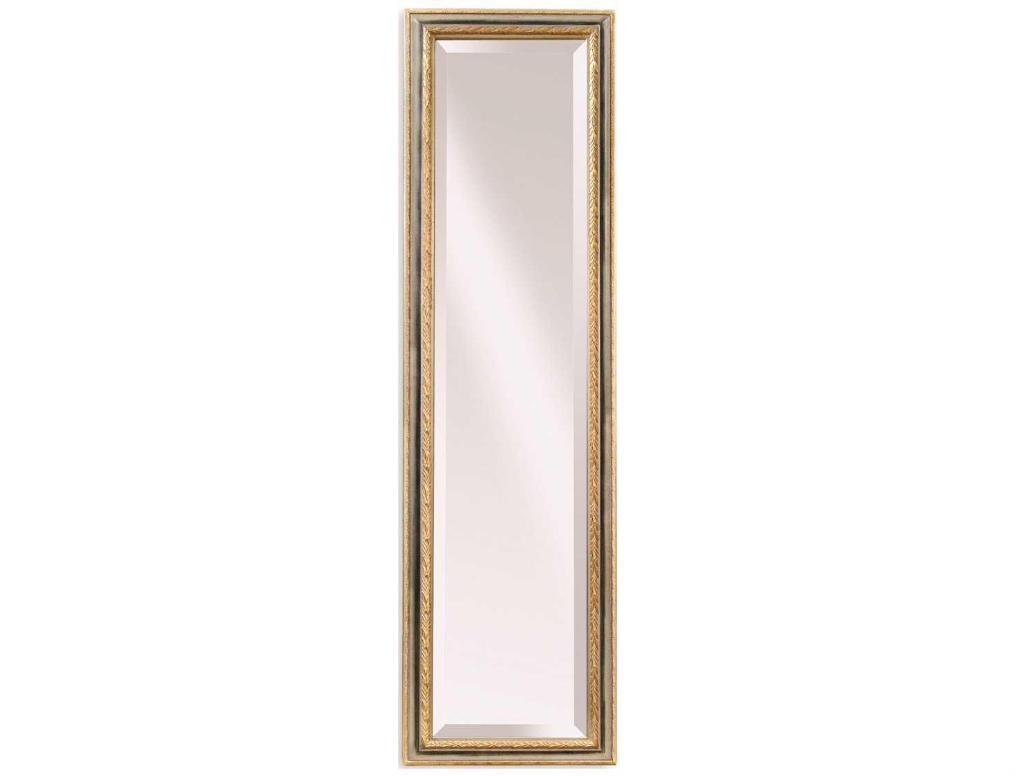 Bassett Mirror Old World 18 X 64 Silver & Gold Regis