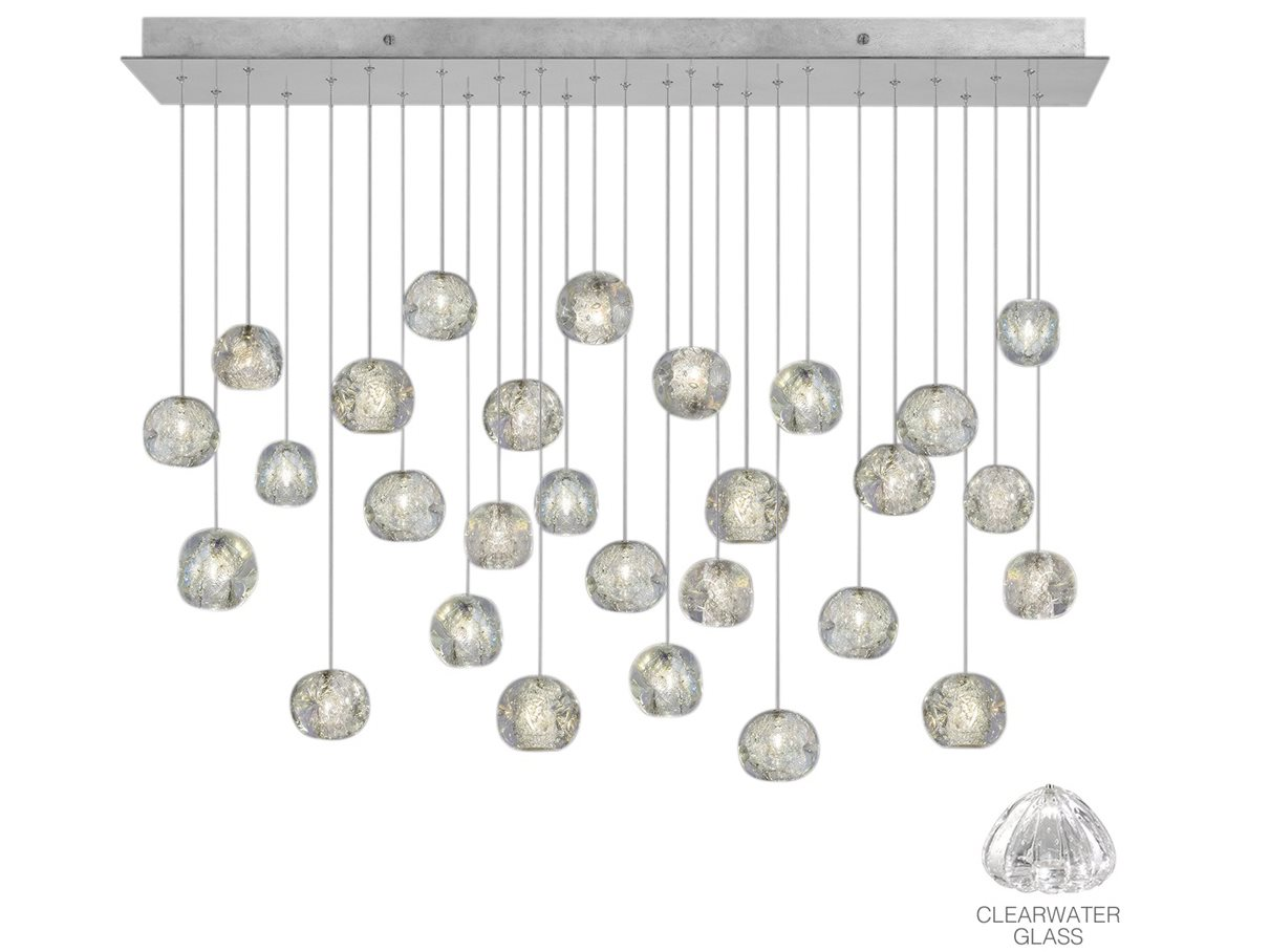Fine Art Lamps Natural Inspirations Led Silver 54 Wide