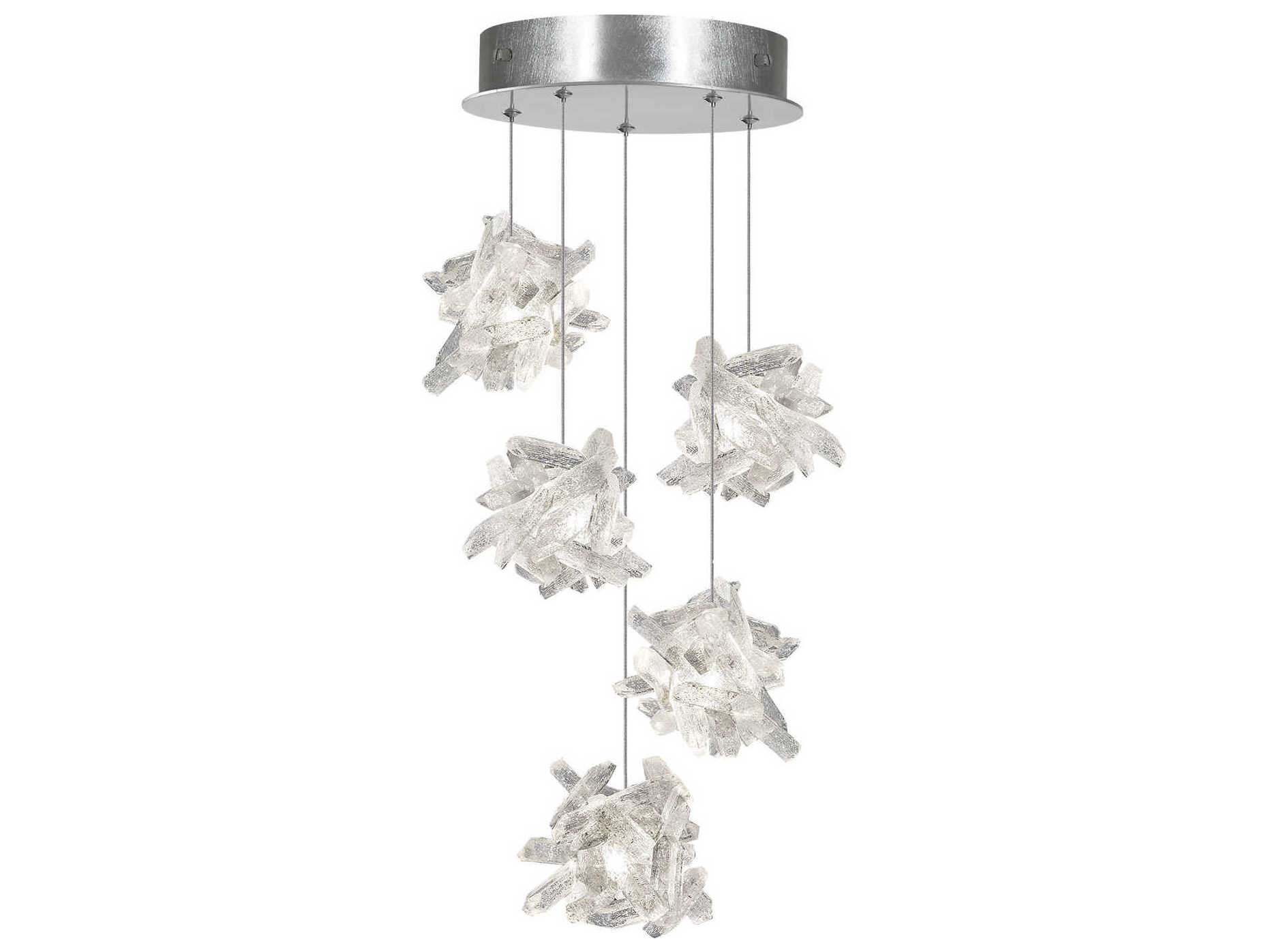 Fine Art Lamps Natural Inspirations Led Silver 12 Wide