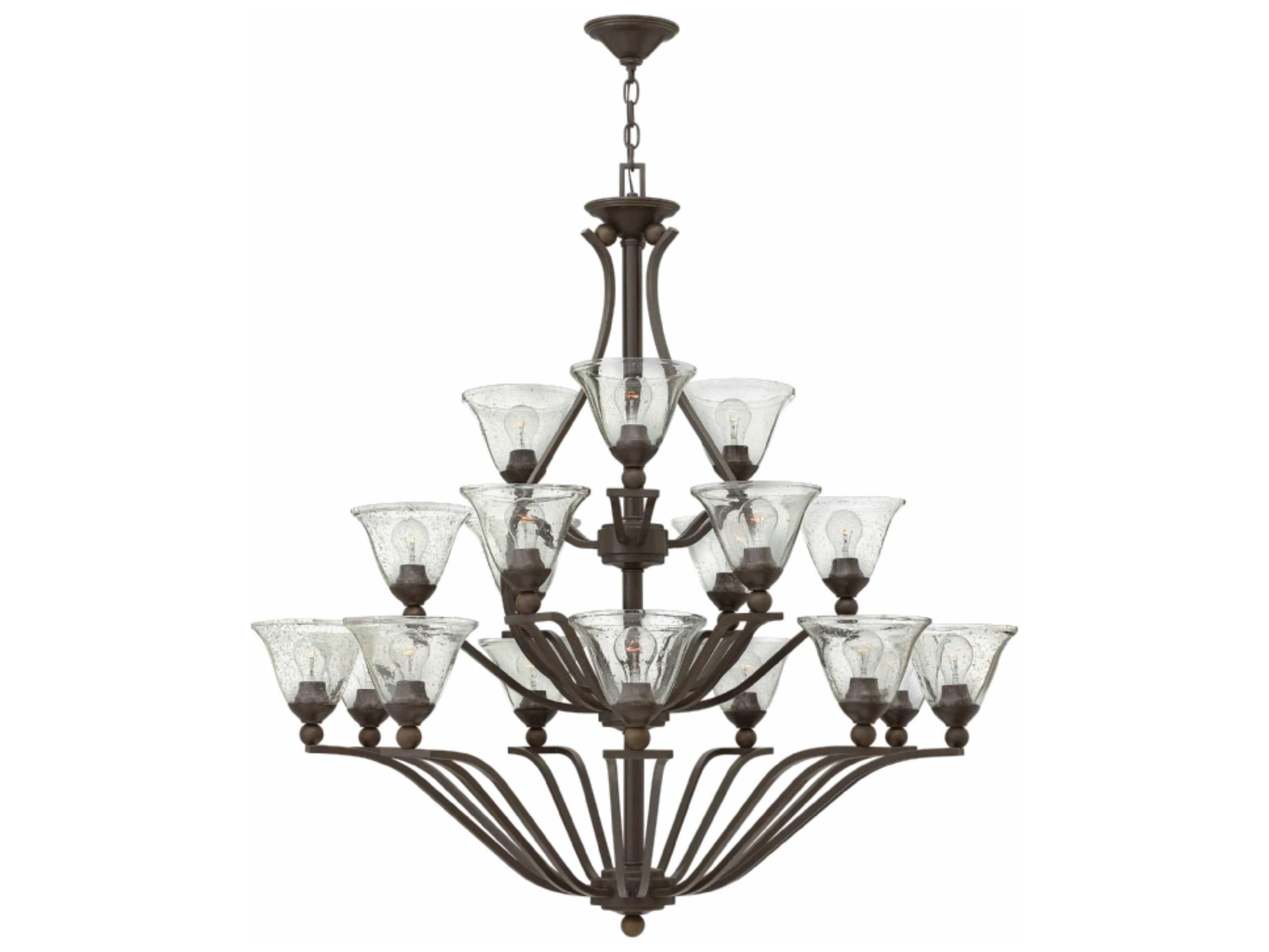 Hinkley Lighting Bolla Olde Bronze 18 Light 48 Wide