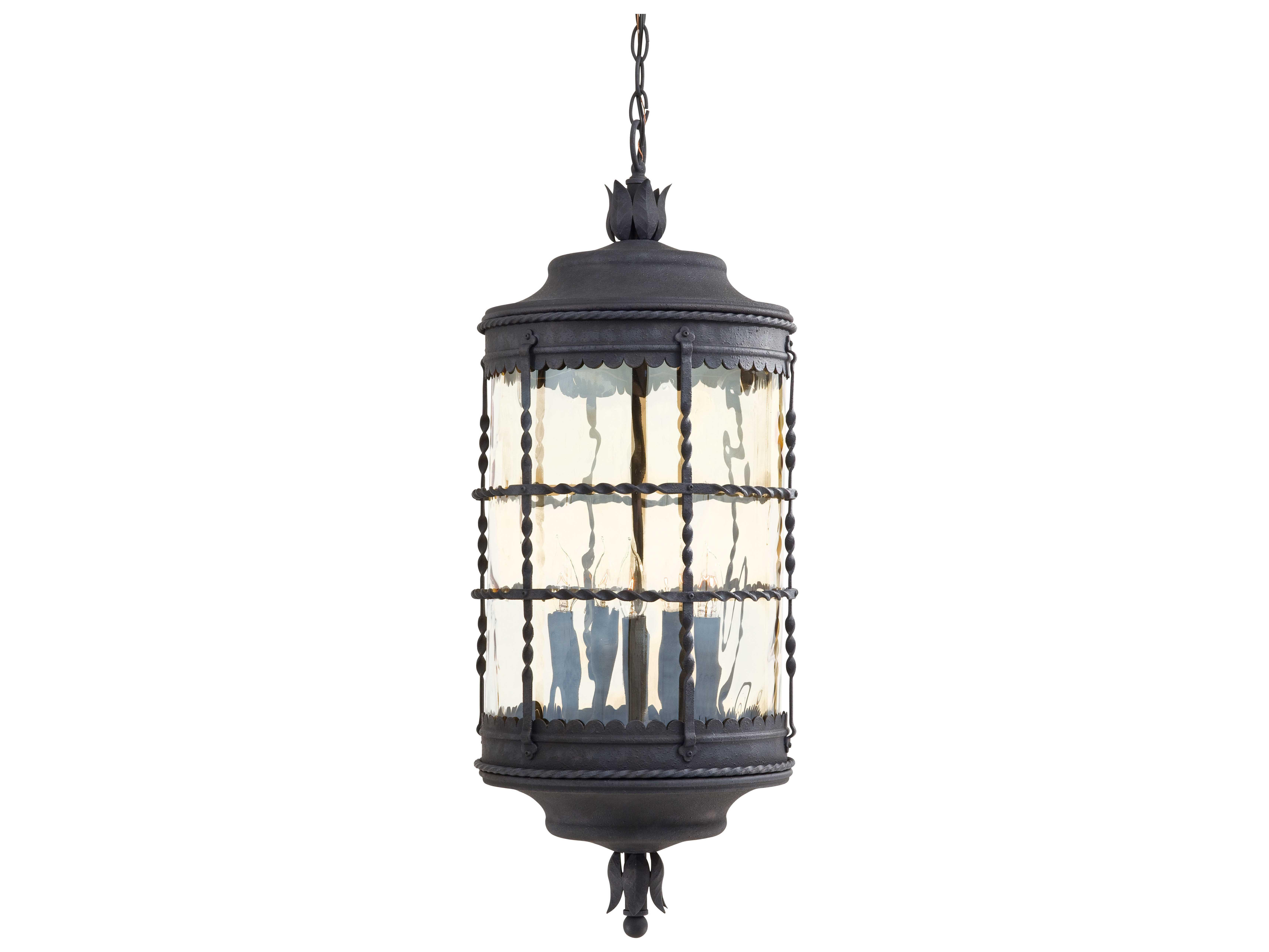 minka lavery mallorca spanish iron glass outdoor hanging light mgo8884a39