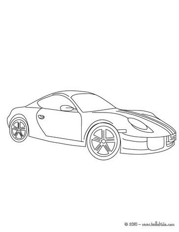 Porsche Cayman Zum Ausmalen Zum Ausmalen Dehellokidscom