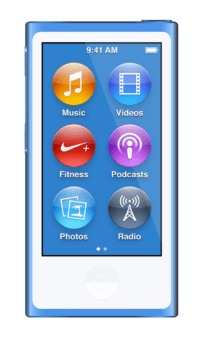 iPod Nano (7th gen 2.5'' Multitouch)