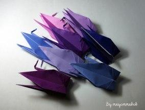 7_DarkPurple_Origami_crane