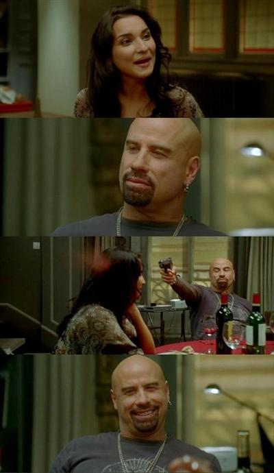 Skinhead John Travolta Meme Generator Imgflip