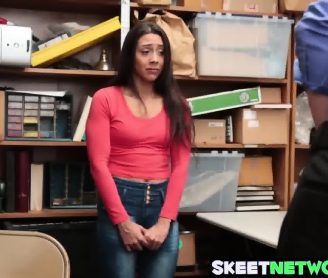 Sexy Teen Shoplyfter Lilly Hall Fucked Wildly In The Office Scene
