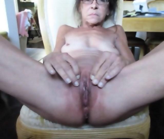 Skinny Granny Pussy