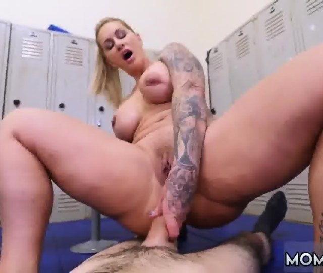 Milf With Big Floppy Tits Dominant Milf Gets A Creampie After Anal Sex Scene 5