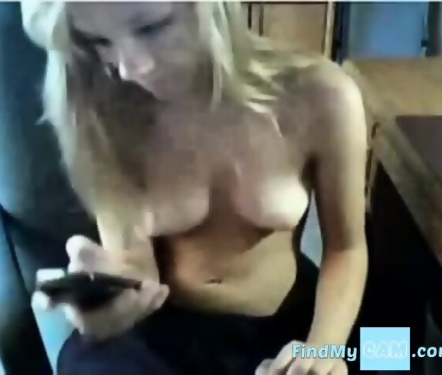 Sexy Blonde Caught Masterbating Scene 3