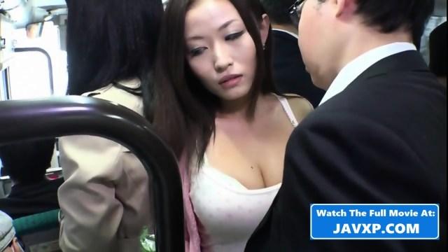Asian Babe Fucks On The Public Bus Scene 3