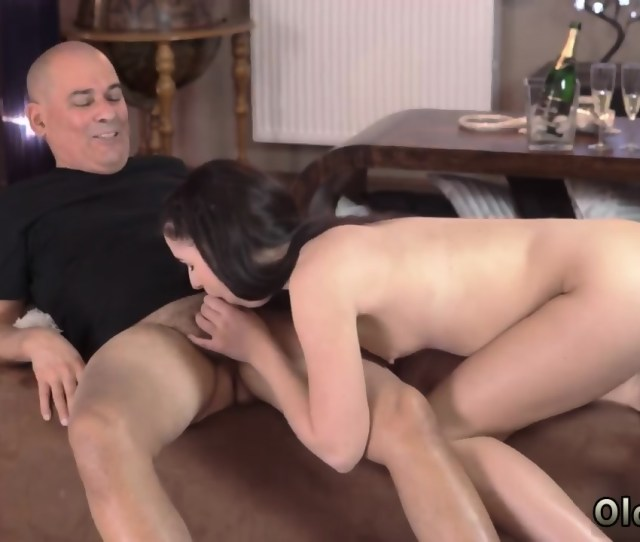 Daddy Came Inside And Old Man Fuck Young Girl Vacation In Mountains Scene 4