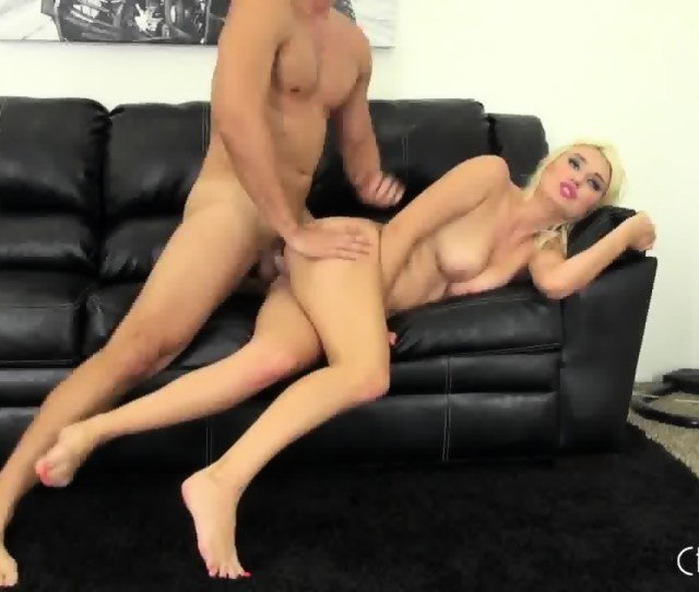 Sex On Black Leather Couch Scene