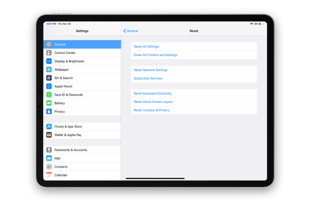 How to restart, soft reset, and factory reset iPad