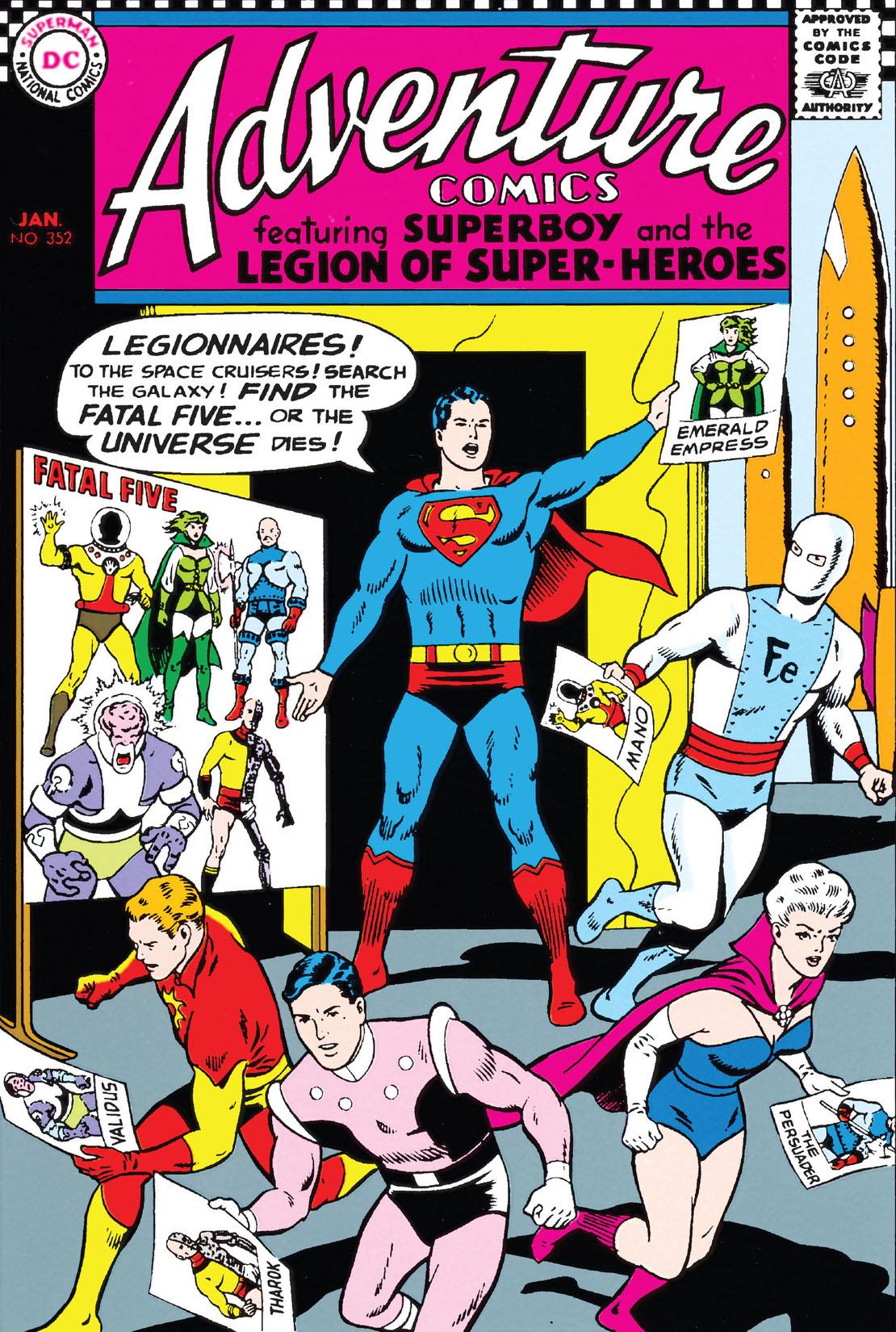 Adventure Comics (1938-) #352