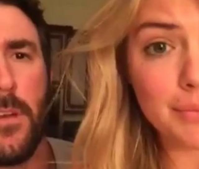 Kate Upton And Justin Verlander Perfectly Recreate Step Brothers Video