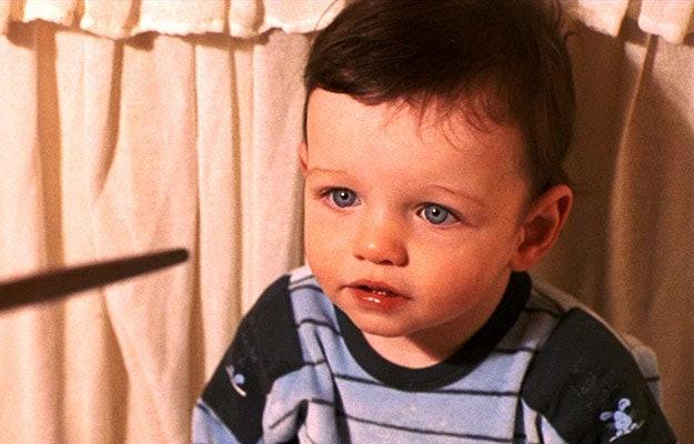 Risultati immagini per baby harry potter