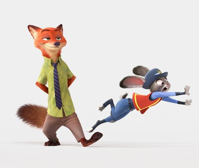 The Voices Of The Zootopia Fox Rabbit Are Total Pros At Going Animated