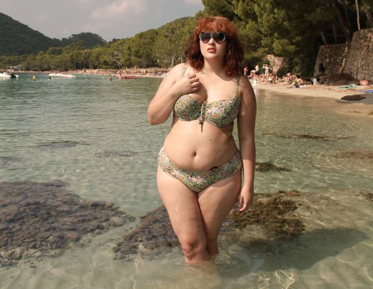I Am A Plus Size Woman Who Wore A Low Rise Bikini To The