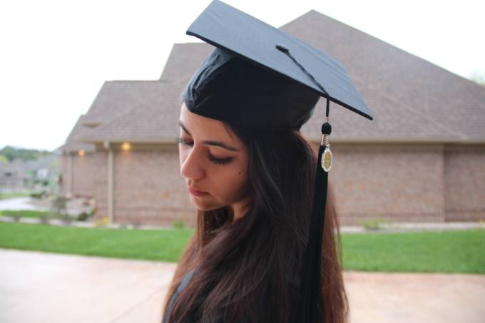 how to make your graduation cap stay on, look good, and not