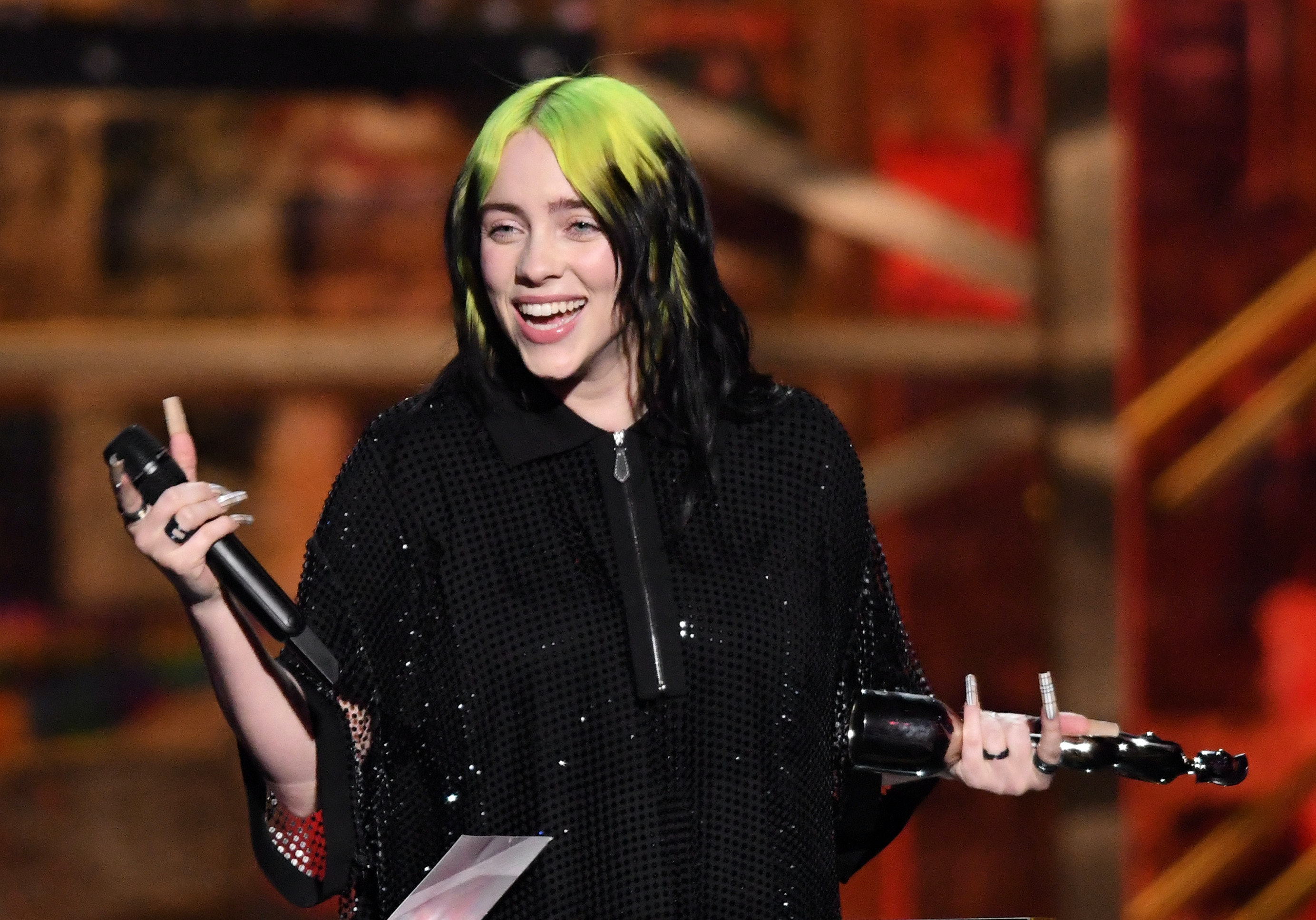 Billie Eilish Went Viral For Her Confused Face At The Oscars
