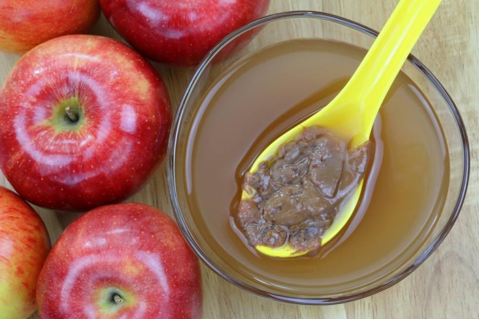 Del Vinagre De Beneficios Manzana