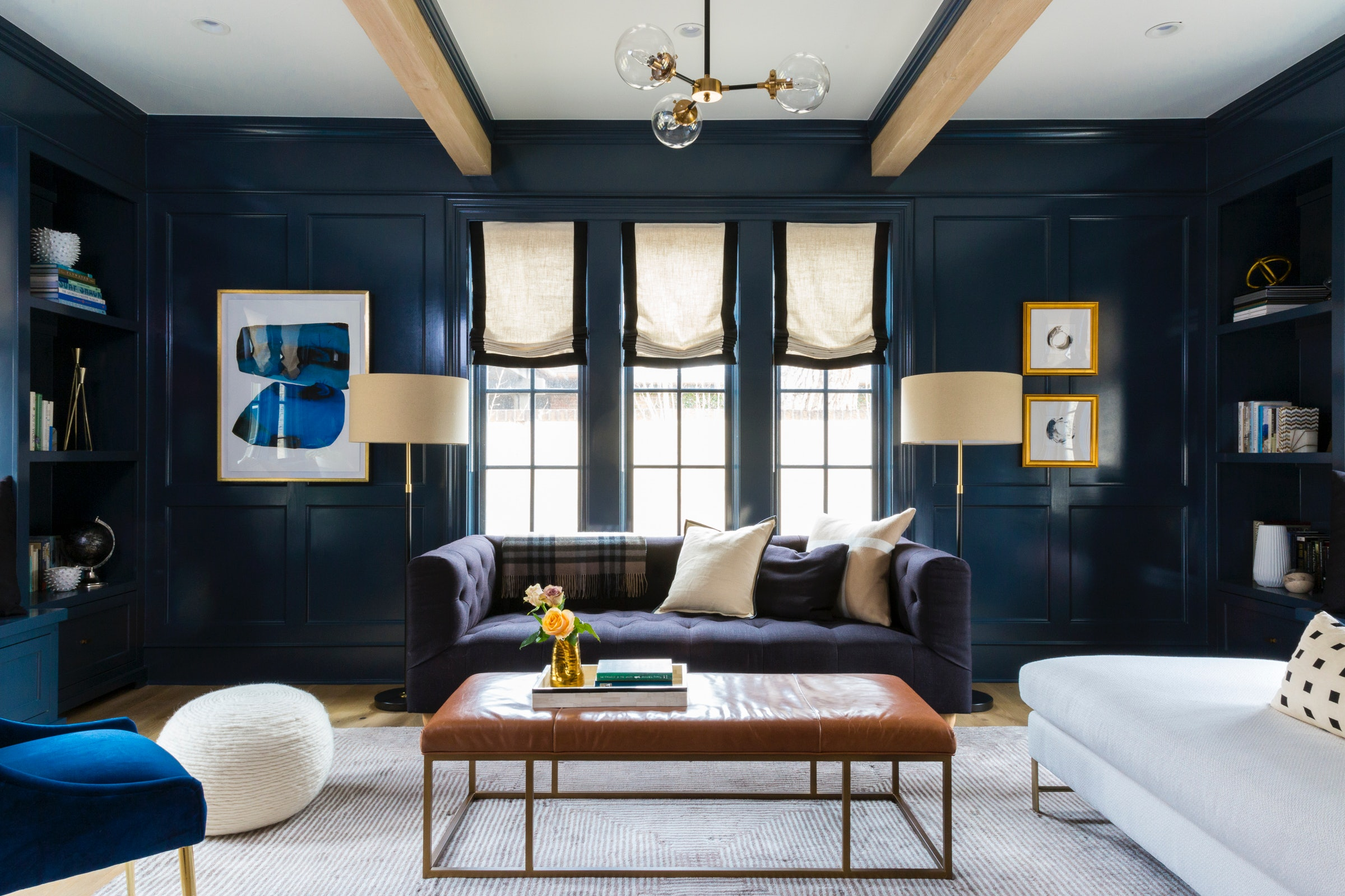 Picking An Accent Wall Color For Your Living Room Is Easier