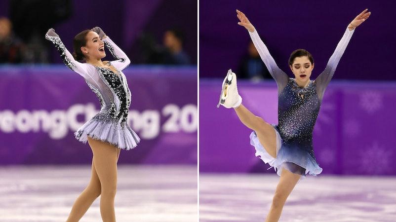 Tweets About Alina Zagitova & Evgenia Medvedeva Show ...