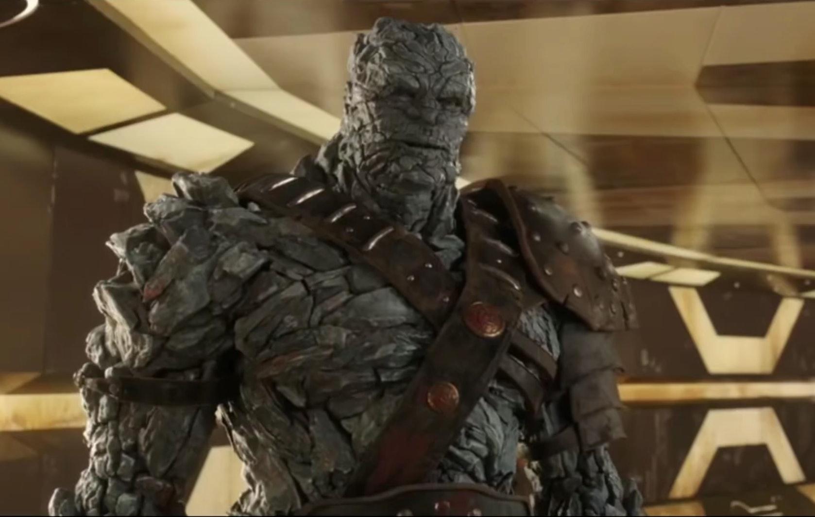 Taika Waititi plays Korg. Credit: Marvel