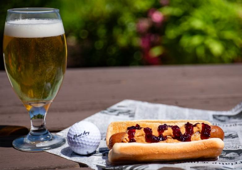hot dog-grill-food