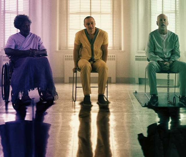 How Is Glass Connected To Unbreakable The Sequel Checks In With David Dunn Mr Glass  Years Later