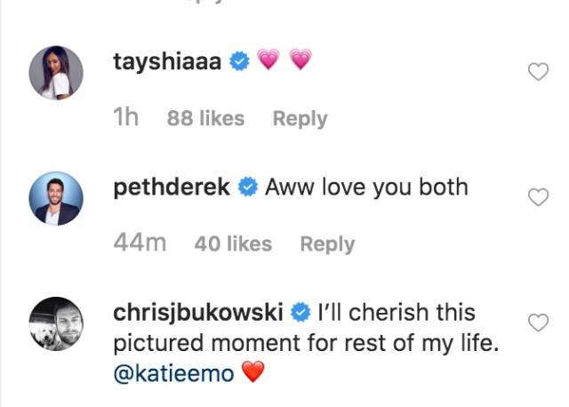 Chris and Katie split