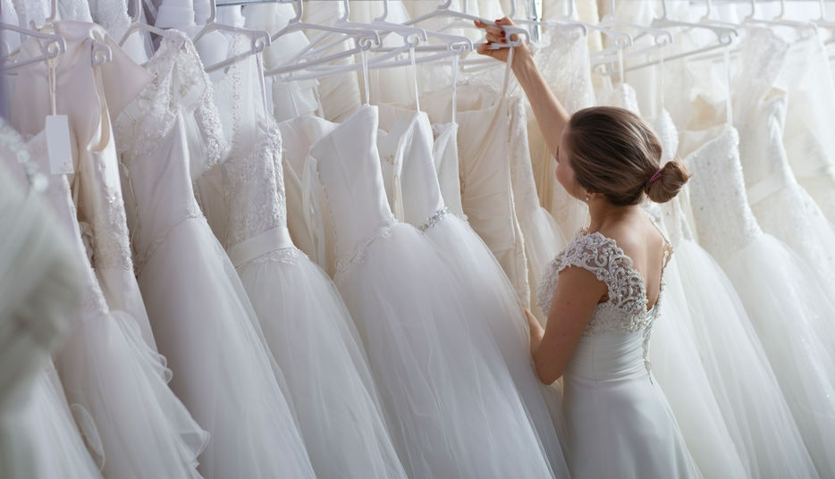 23 Captions For Wedding Dress Shopping That Capture All