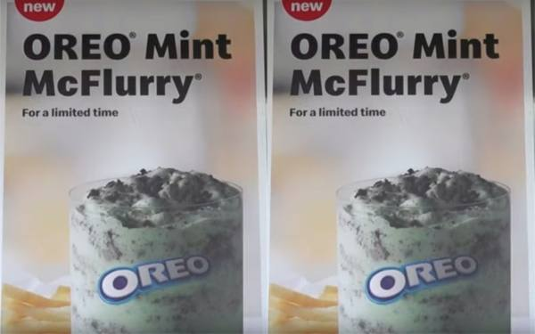 A Mint Oreo McFlurry Has Been Spotted At McDonald