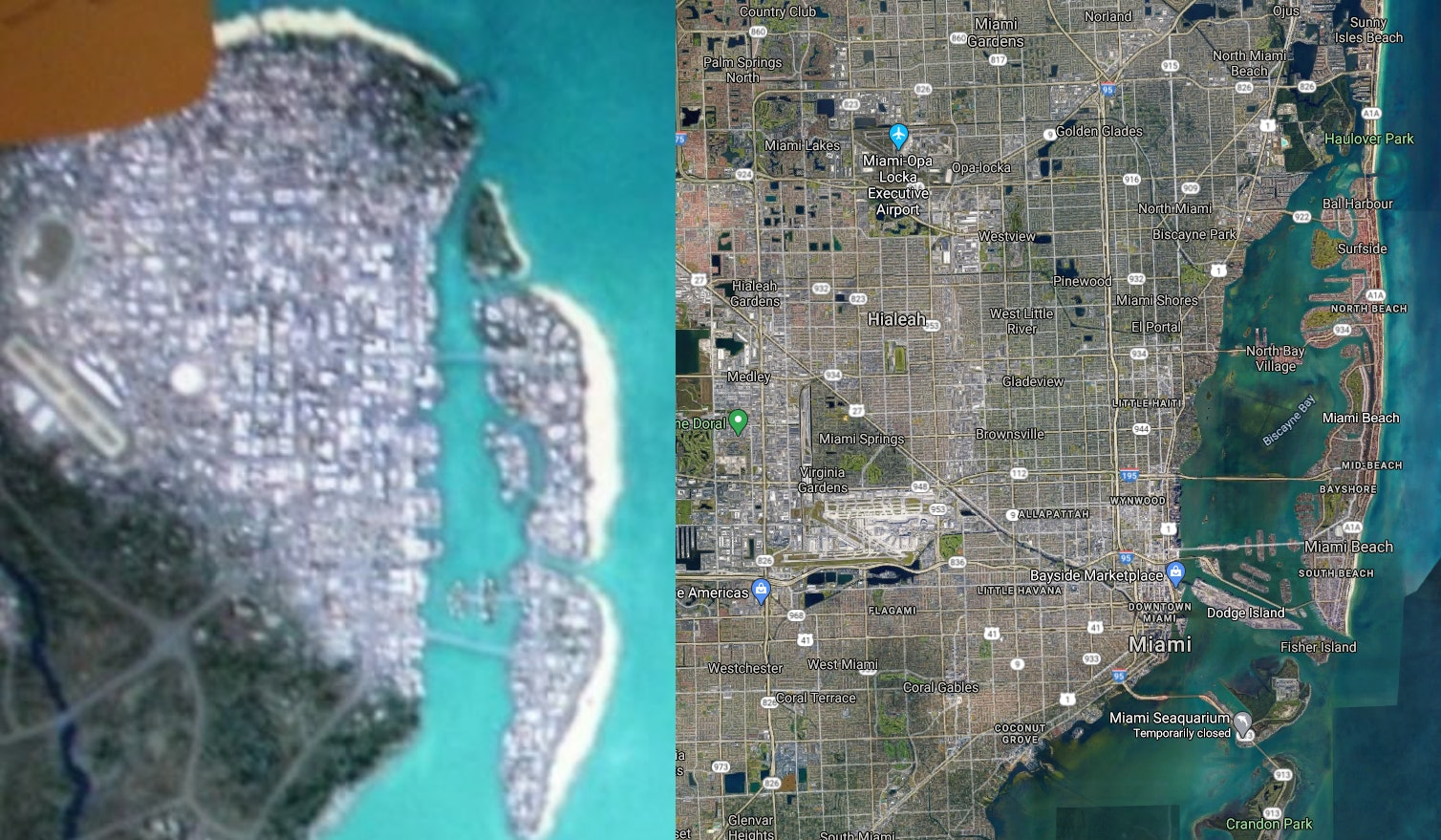 Gta 6 Map Leak Seemingly Confirms Project Americas Rumors