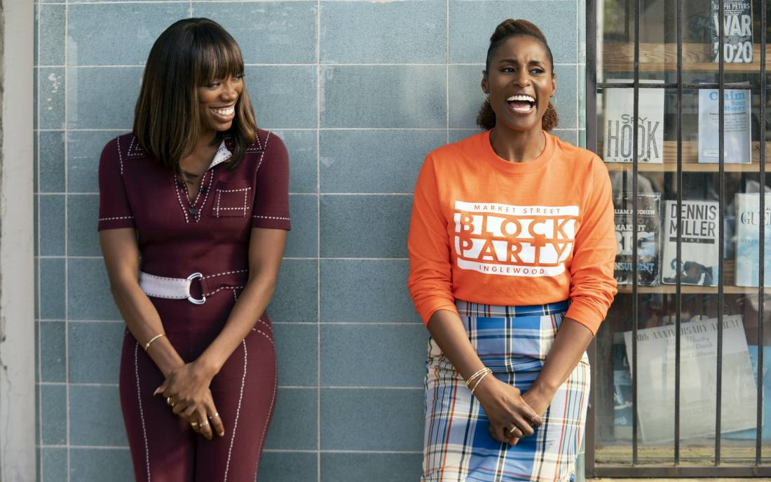Yvonne Orji as Molly and Issa Rae in 'Insecure' Season 4
