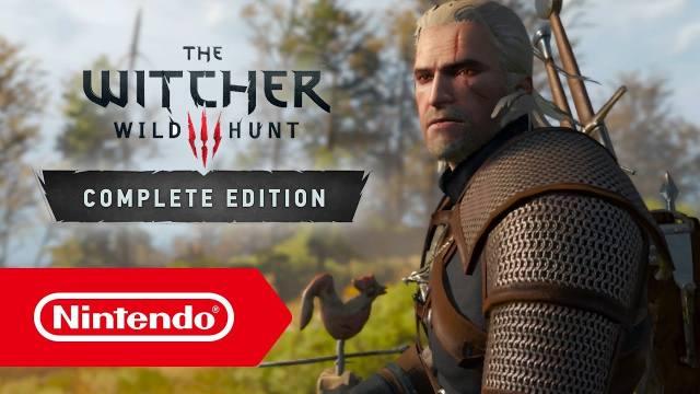 witcher 3 wild hunt nintendo switch