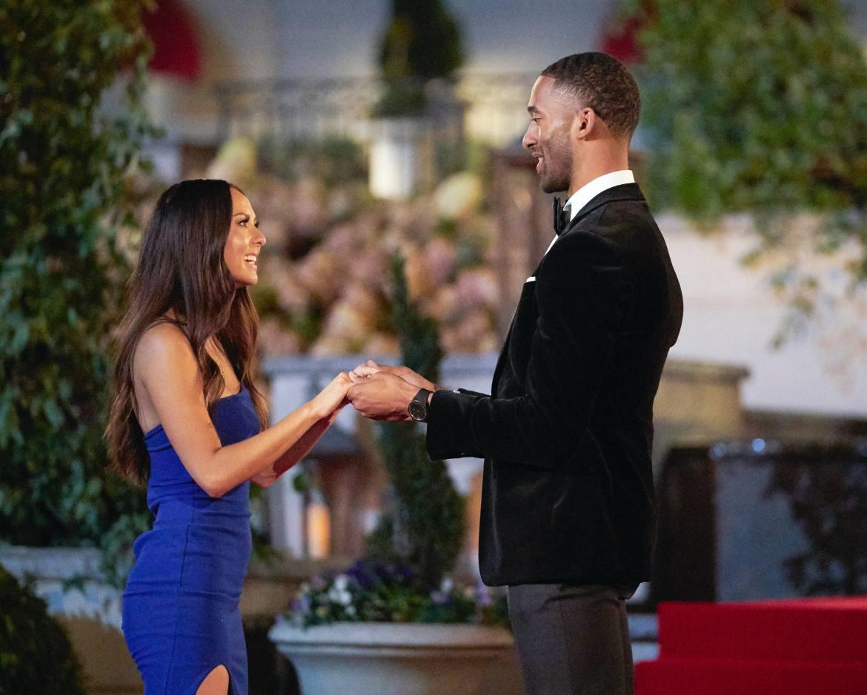 Matt and Abigail in The Bachelor.